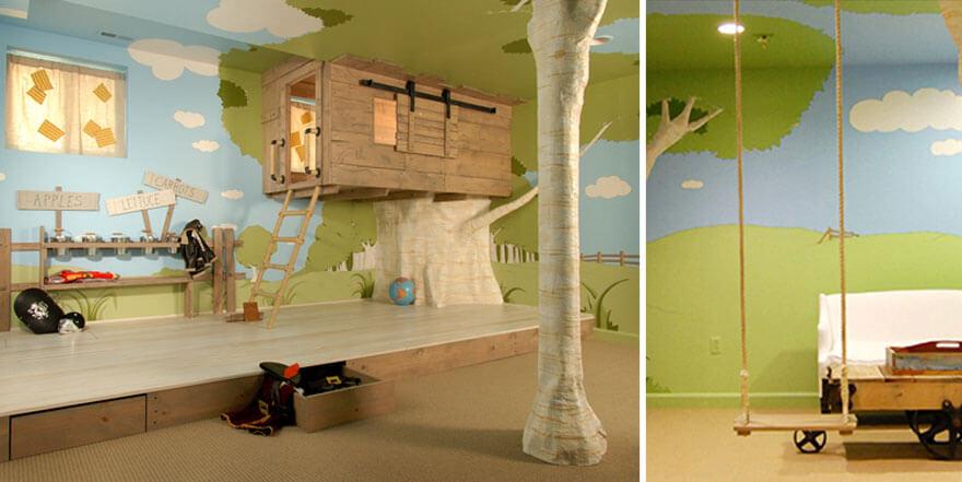 Как оборудовать детскую комнату своими руками 28